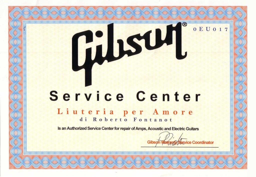 gibson-service-center
